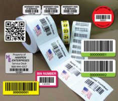 barcode-military-rfid-paper-labels-stickers